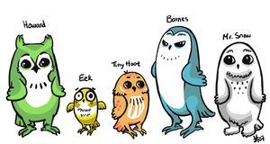 owl in the family + now colors by theRast
