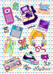 So 90s Sticker Sheet by marywinkler