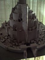 Minas Tirith model by ChristianTsvetanov