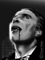 Mr. Lee as Dracula by Thundertori