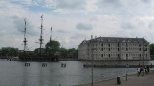 A Replicated Ship and a museum by RT912