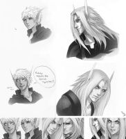 WoW Blood Elves by Altana