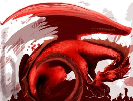 Red Dragon by HaneChan