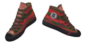 ANOES Freddy Krueger Shoes by Enlightenup23