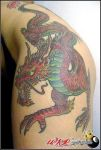 dragon by wkrtattoo