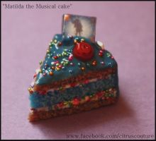 Cake collection: Matilda cake charm by citruscouture