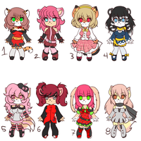 Point adoptables set 10 -OPEN- by Anini-Chu