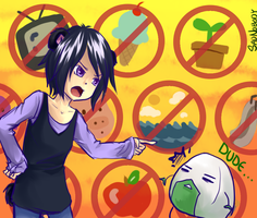 To Reprimand a Ball of Rice by sadnobody