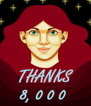 Thanks for 8,000 by TheTrueDreamer