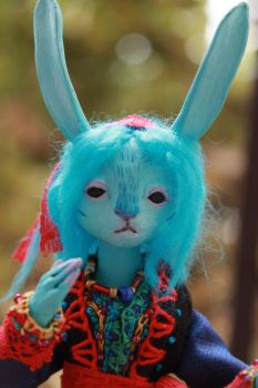 Blue Bunny 5 by l-heure-du-the