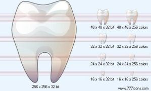 Tooth Icon by medical-icon-set