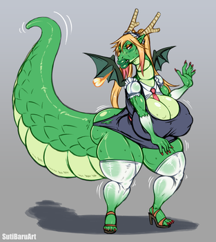 [CM] Doubled Dragon by SutibaruArt