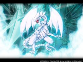 WP collab - Blue-Eyes White D. by TeraMaster