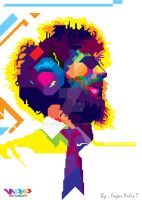 Brad Delson WPAP by Fajar Yulis T by madfrog25