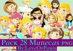 Pack: Nenas PNG by LoveOfParis