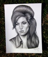 Amy Winehouse by pacificpastime