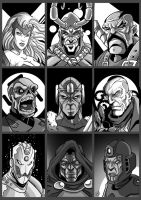 Avengers' Villains by drvce