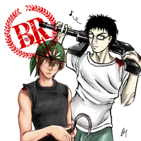 BR PoT-Inui Kaidoh collab by marourin