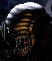 Gears of War pic - Alien close up by Anothen