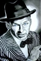 Frank Sinatra by pendalousthreads