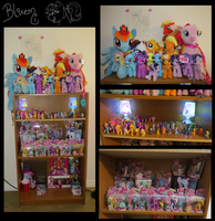 My Pony Collection!! by Blixemi