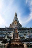 Ayutthaya: White Tower by Mgsblade