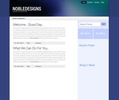 Nobledesigns 2008 blog redesig by Kip0130