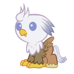 Baby Silver Quill - Vector by Justthebrony