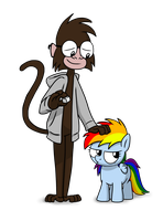 ROBCakeran My Little Dashie Charity Piece by petirep