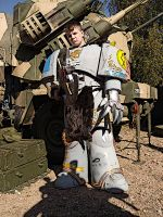 Spaceritter festival 2014 Space marine by ElysianTrooper