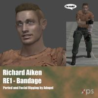 Richard Aiken RE1 Bandage by Adngel