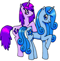 The Forget-Me-Nots ~ For Sketchypony123 by SarahThePegasister
