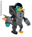 Perry the Platyborg by FitzOblong