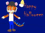Happy Halloween from me! by ProxyMandrill90000
