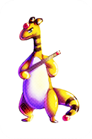 HG Nuzlocke Team: Lucille the Ampharos by emeraldakina