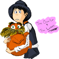 The Once-Ler and The Lorax From Movie The Lorax by SouL00020