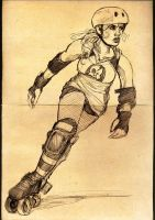 roller derby by punchyninja