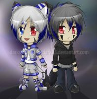 ::CO chibi:: los hermanos itsume. by bachadark93