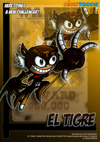 Nicktoons - El Tigre by NewEraOutlaw