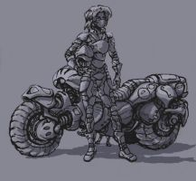 Bike concept by Sokil-Su