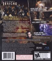 Clive Barker's: Jericho Back Cover by derrickthebarbaric