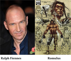 X-Men,Wolverine Fan Cast Romulus V.1 by RobertTheComicWriter