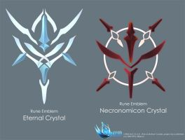 Rune Emblem Crystal by Coffee-Straw-LuZi
