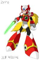 Zero from Megaman X by Stareon