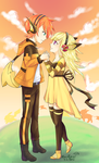 You're the Pi to My Chu (AT) by MiraiParasol