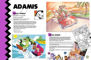 Sonic Art Collection (Pages 44-45) ADAMIS 2 by darkspeeds