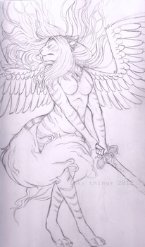 Winged- Pencils by inky-thingy