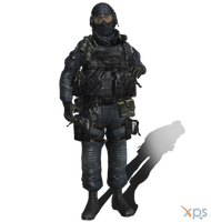 MW3 Paris GIGN 04 by IIReII