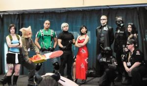 Resident Evil Group Picture by GreenElfie