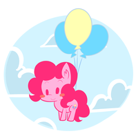 balloons Rider by kty159